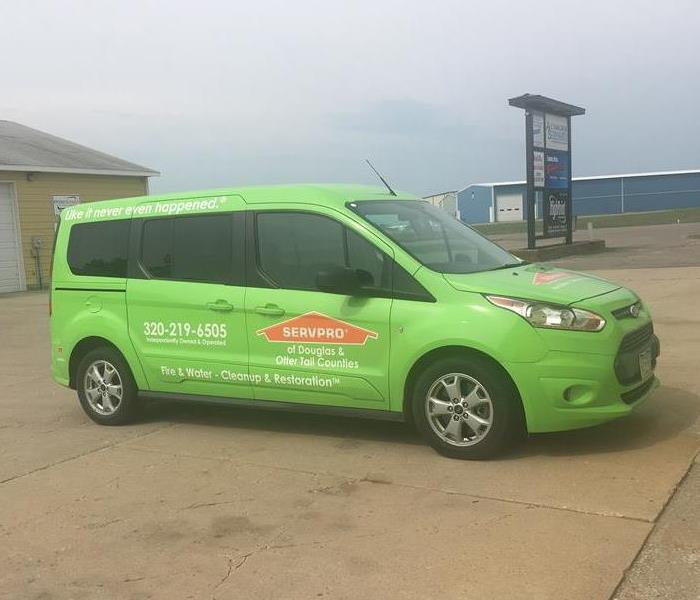 General  For Immediate Service in Douglas or Otter Tail County, Call SERVPRO