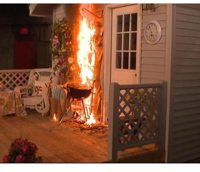 Fire Damage TIPS TO KEEP YOUR SUMMER BARBEQUES SAFE:  Use These to prevent Fire Damage to Your Home